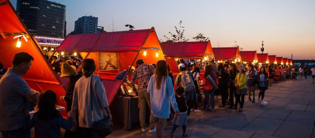 Yeouido-night-market-korea